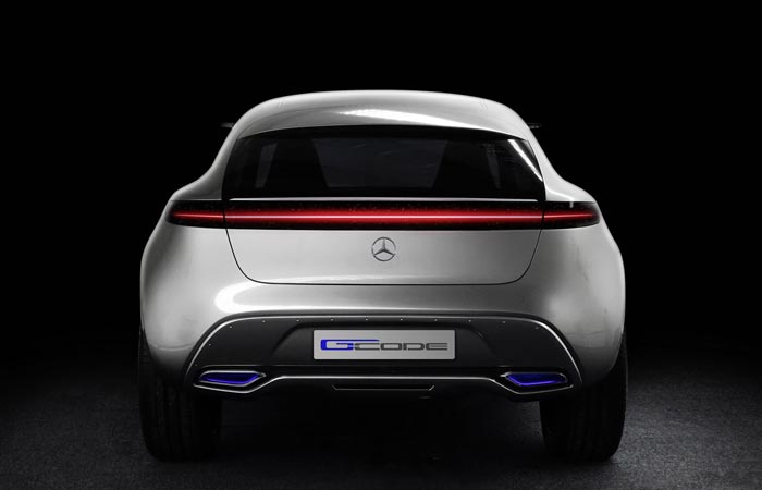 Mercedes-Benz Vision G-Code rear view