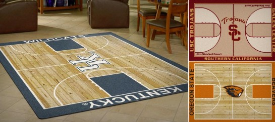 MILLIKEN NCAA COURT RUG COLLECTION