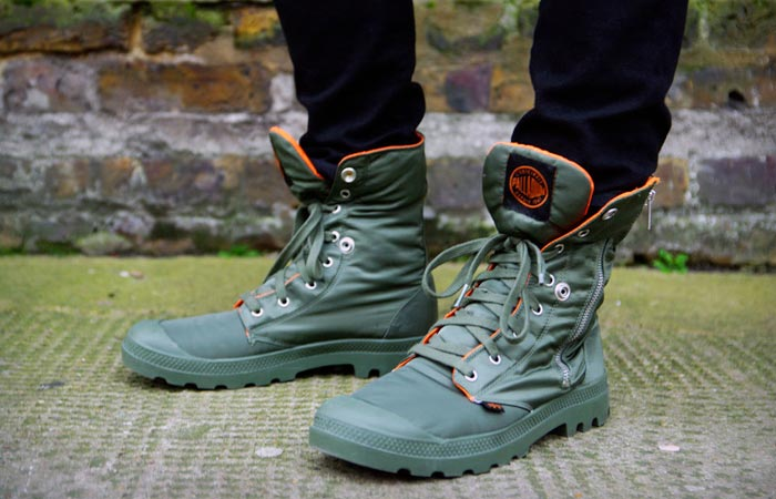 Pampa Zip MA-1 boots by Palladium and Alpha Industries 4d68b838801