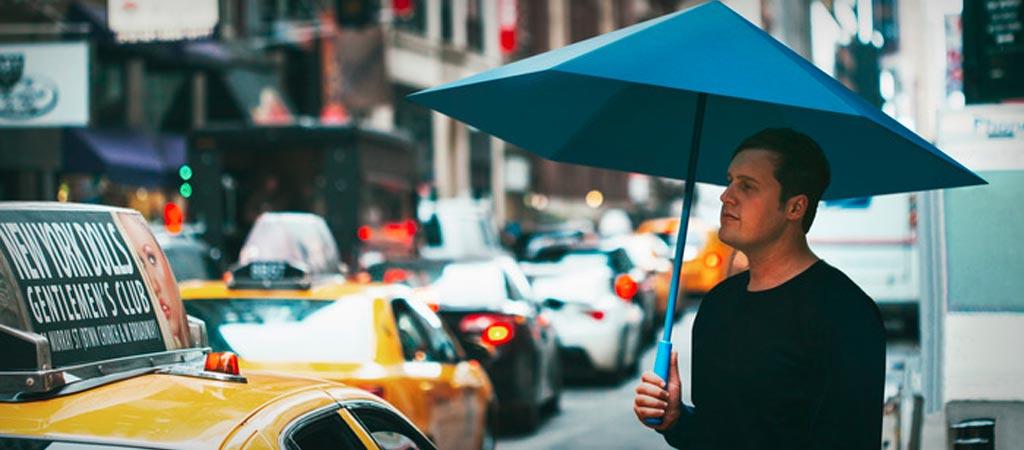 SA Origami umbrella on kickstarter