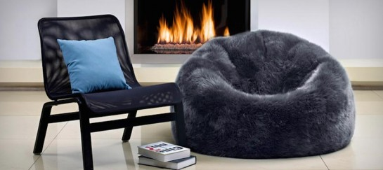 SHEEPSKIN BEAN BAG | BY PARKER WOOL