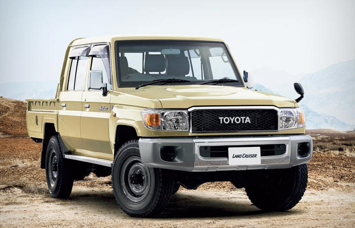 Toyota Land Cruiser 70 Series Re Release Jebiga Design