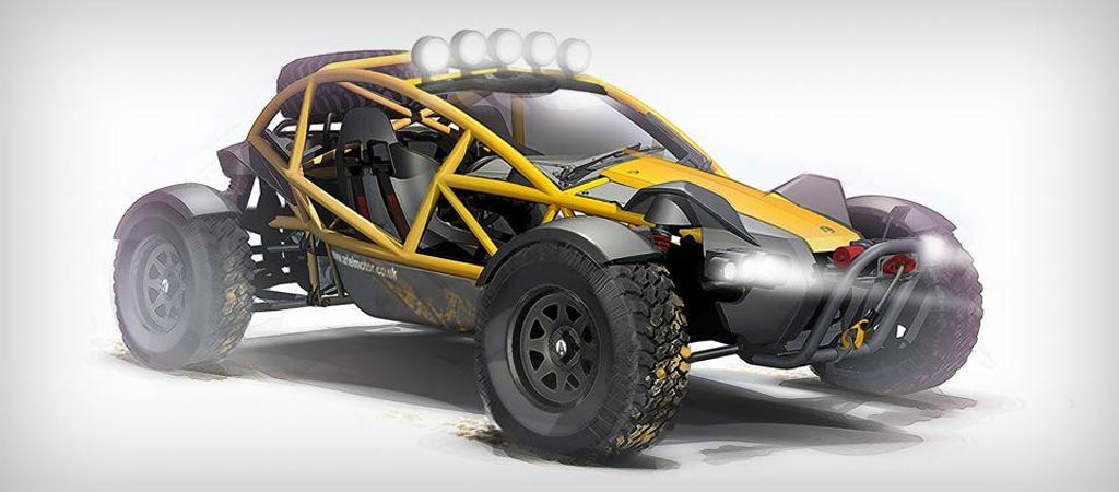Ariel Nomad from Ariel Motors
