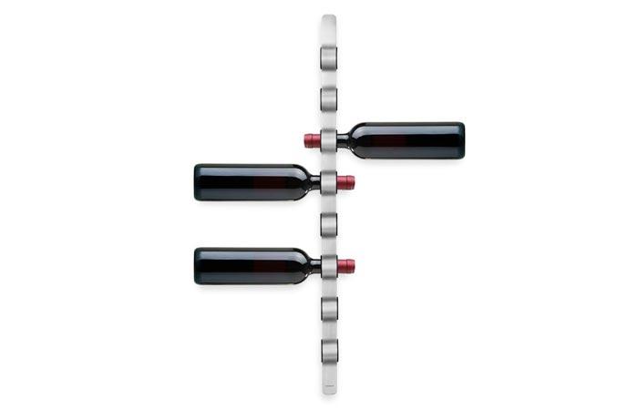 Blomus wall-mounted wine bottle holder