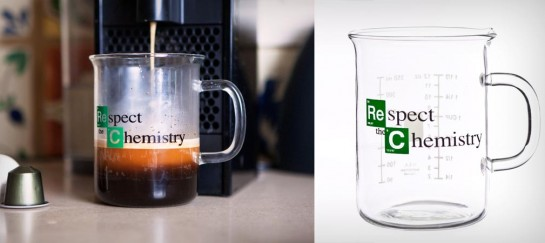 BREAKING BAD RESPECT THE CHEMISTRY MUG