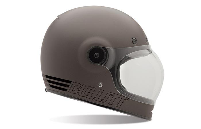 Retro Bell Bullitt motorcycle helmet