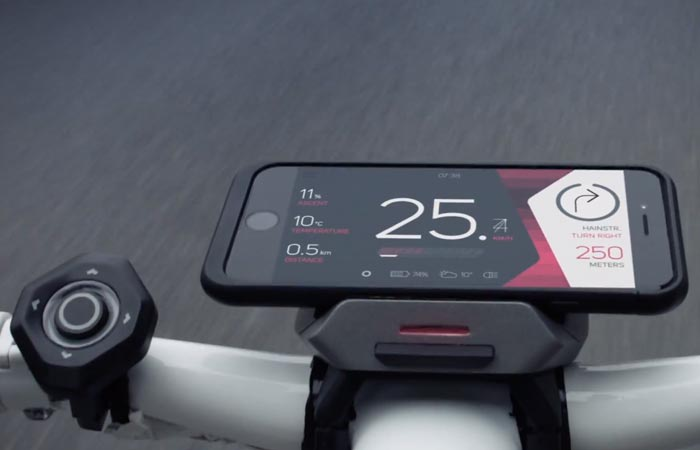 Cobi smart biking system