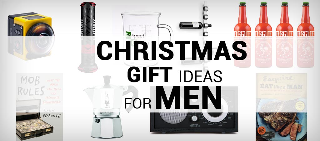 CHRISTMAS GIFT IDEAS FOR MEN |