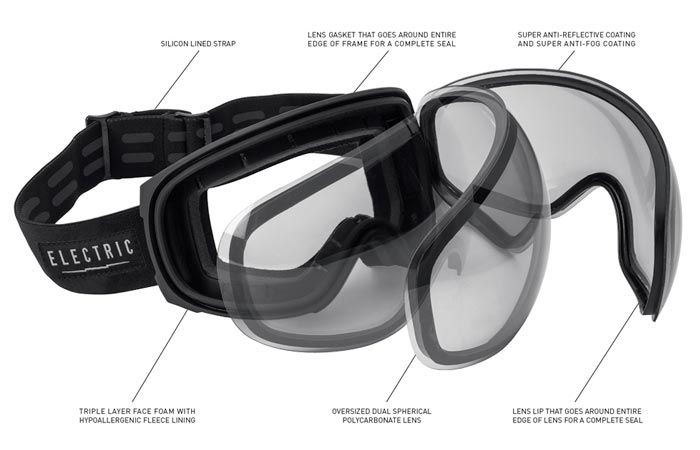 EG3 snow goggles by Electric