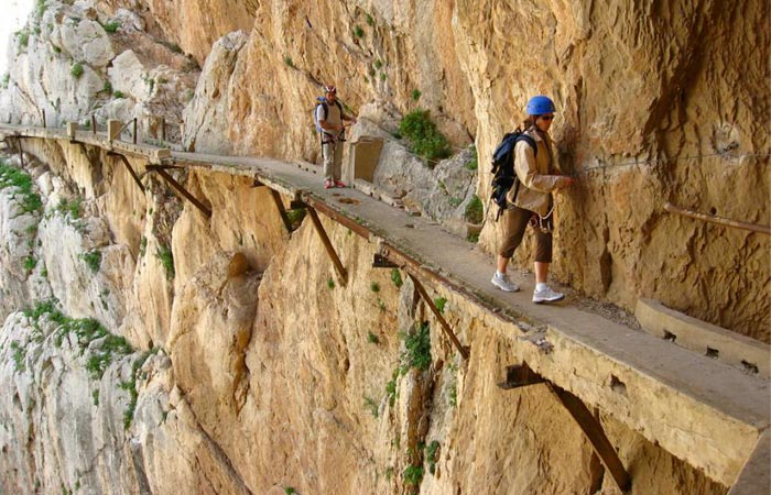 El Caminito Del Rey path