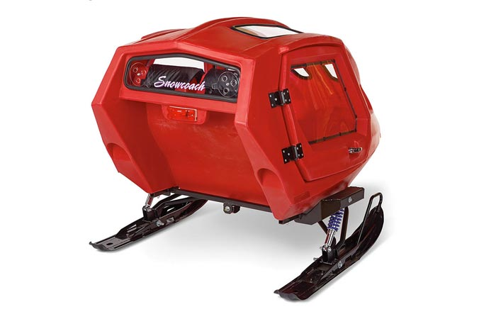 Equinox 685 Snowcoach in red