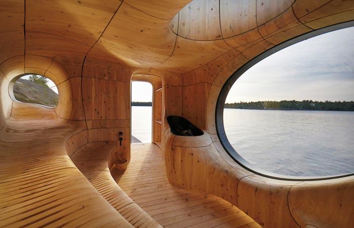 Sauna by Partisans studio