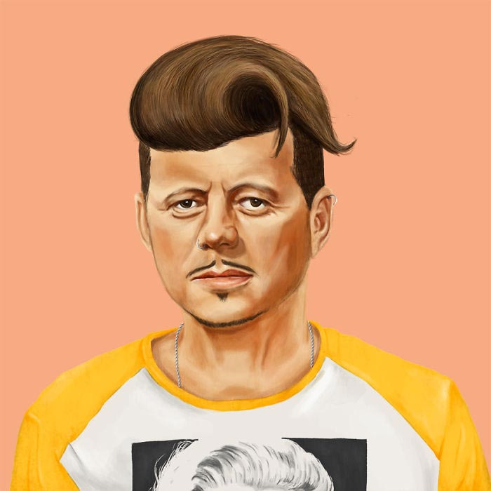 Hipster JFK