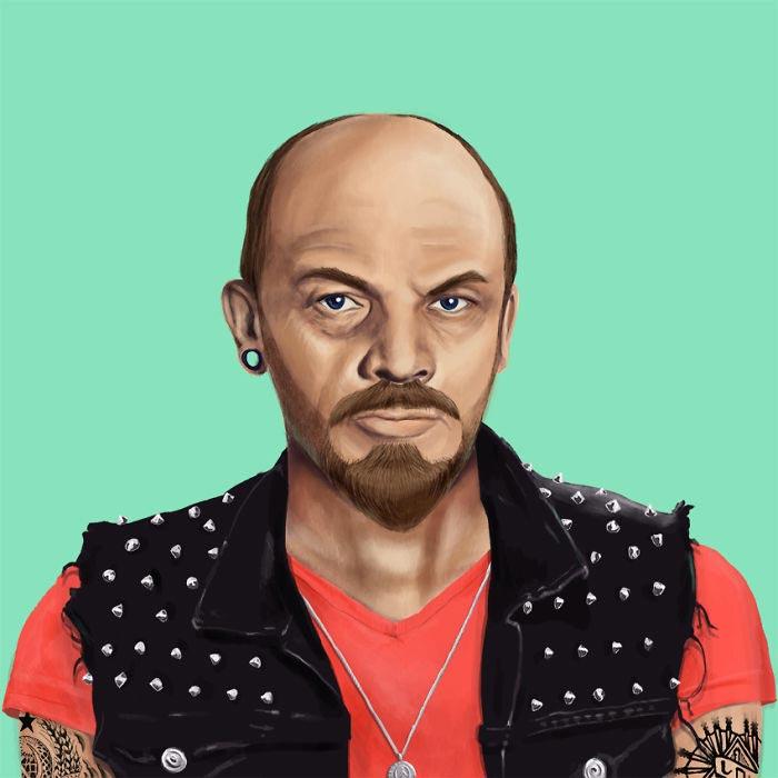 Hipster Lenin