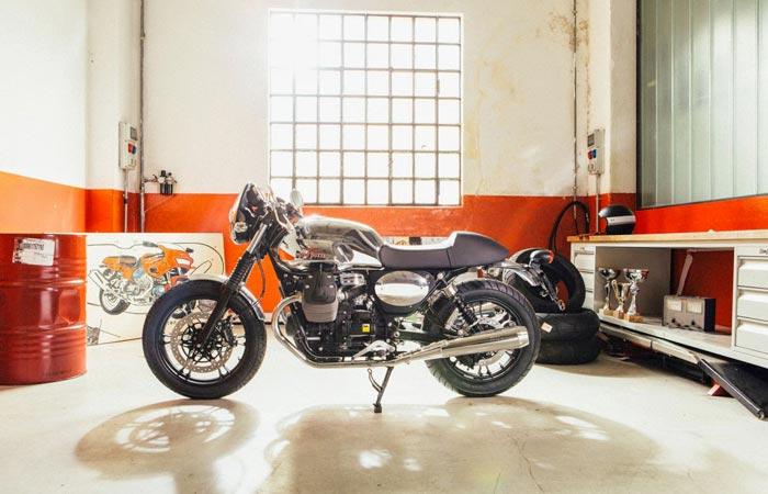 Moto Guzzi V7 custom kit bike