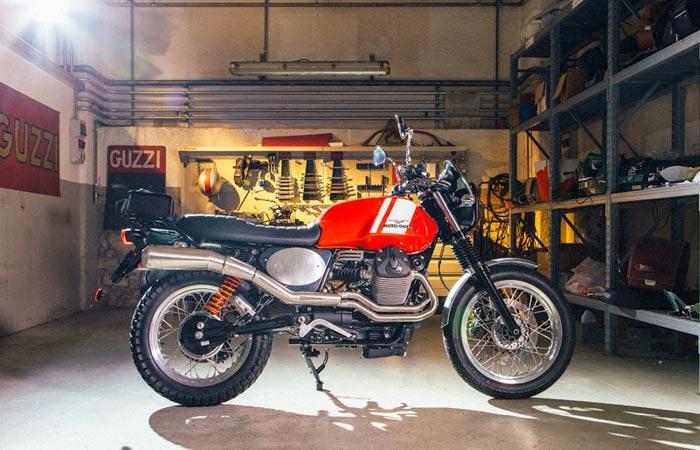 Moto Guzzi V7 custom kit dirt bike