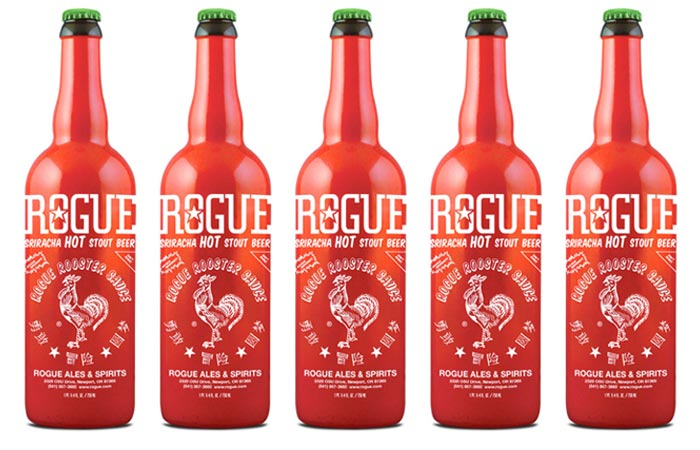 Rogue Sriracha Beer