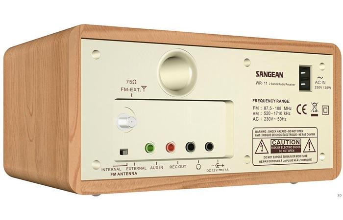 Sangean AM/FM radio