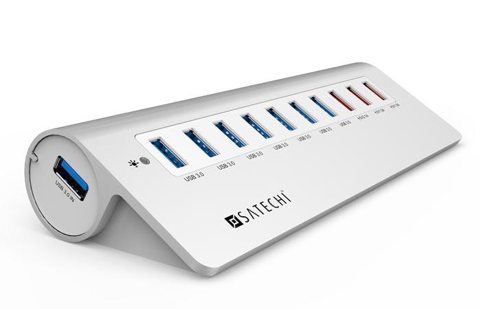 Satechi 10 Port Usb 3 0 Hub Jebiga Design Amp Lifestyle