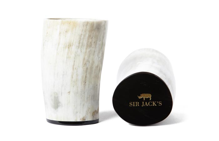 Sir Jack's Ox Horn tumblers