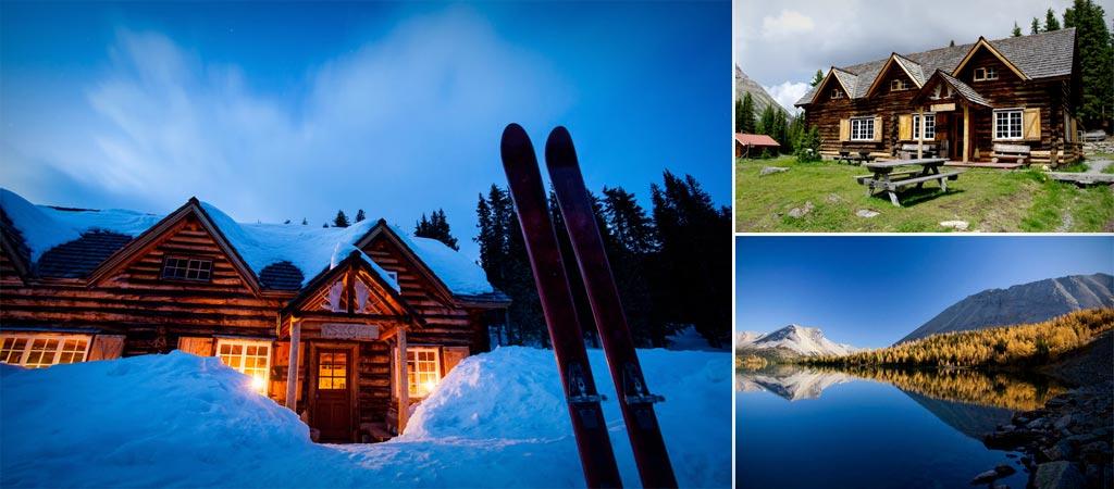 Skoki lodge in Banff