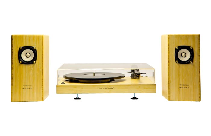 Sota Moonbeam Turntable with speakers