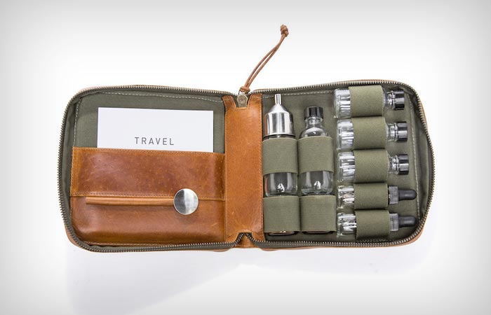 Stephen Kenn travel cocktail kit