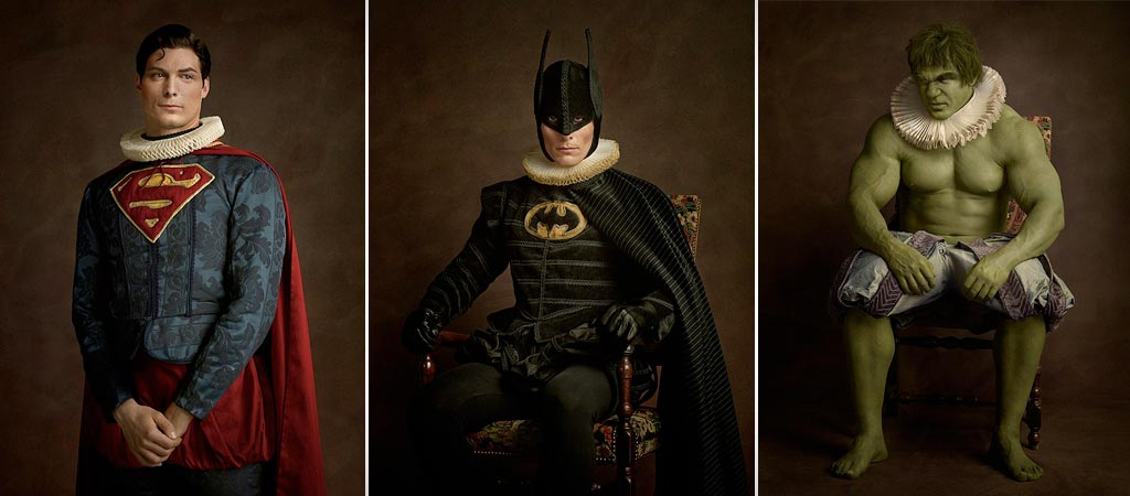 Super Flemish Heroes by Sacha Goldberger