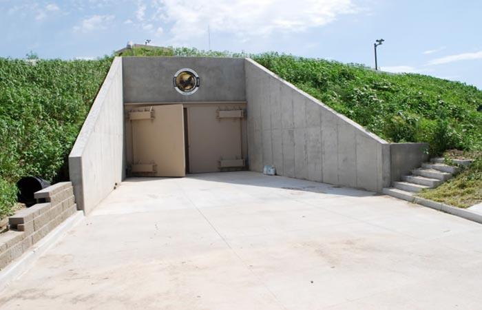 Ex US army missile silo converted into luxury survival condos