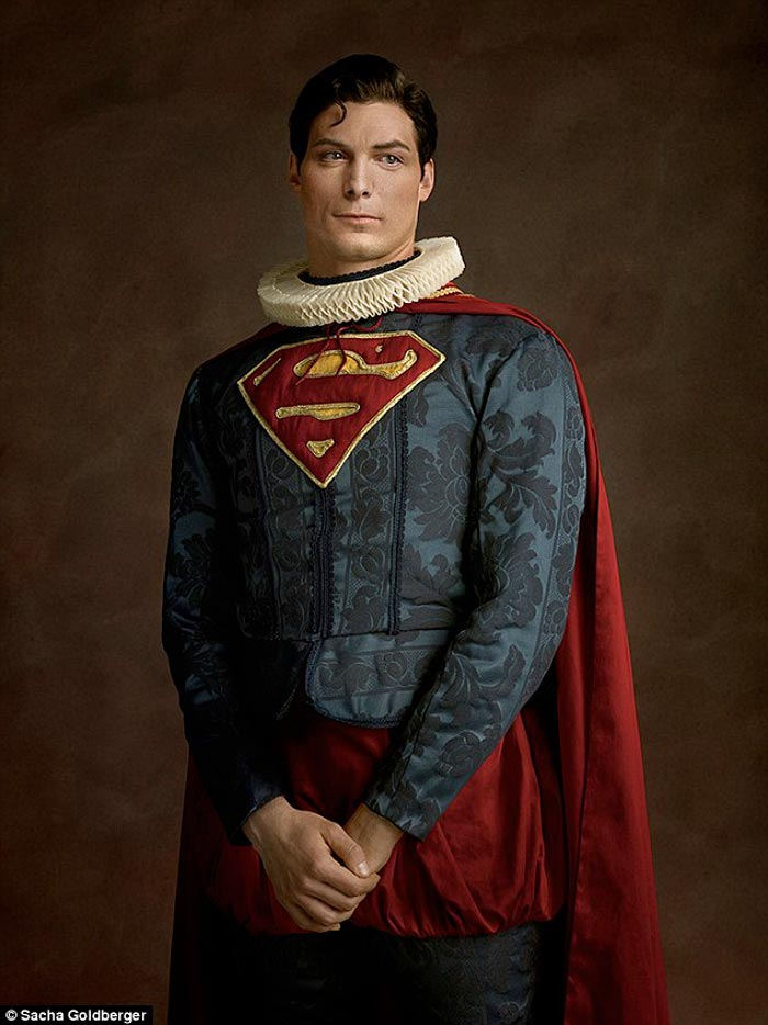 Superman Flemish costume and style