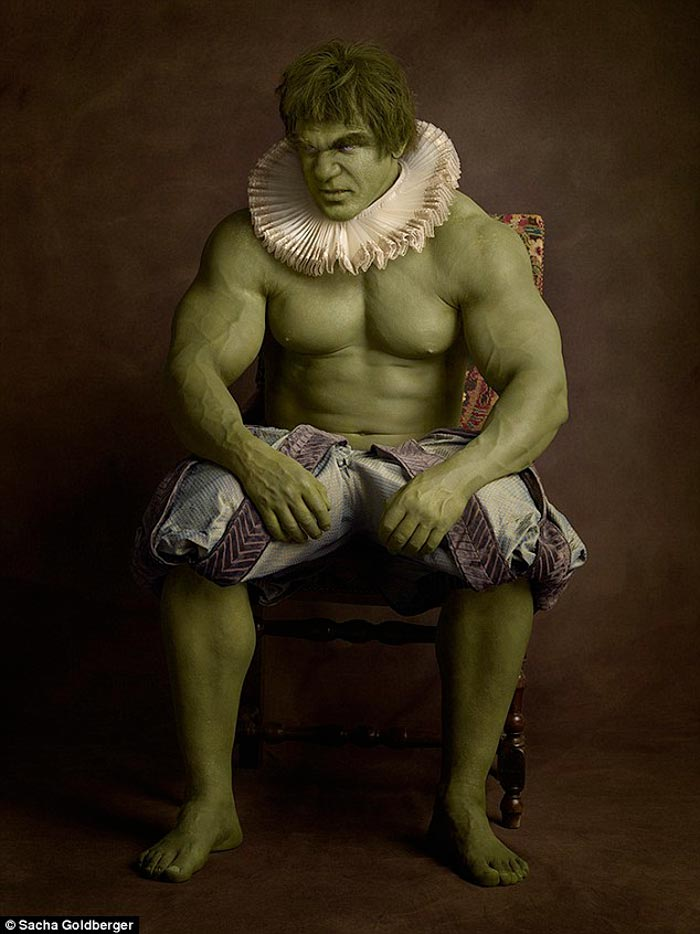 The Hulk in a Flemish style