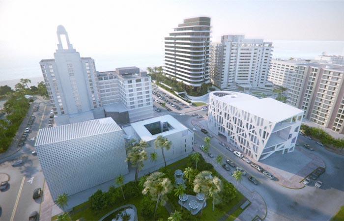 Architecture of the Faena Forum in Miami Beach