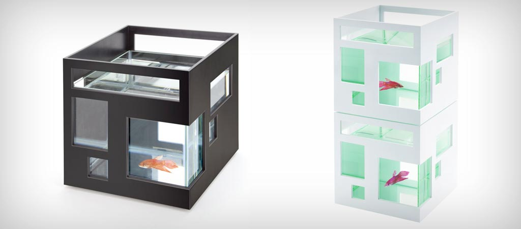 Umbra fishhotel aquarium jebiga design lifestyle for Fish hotel tank