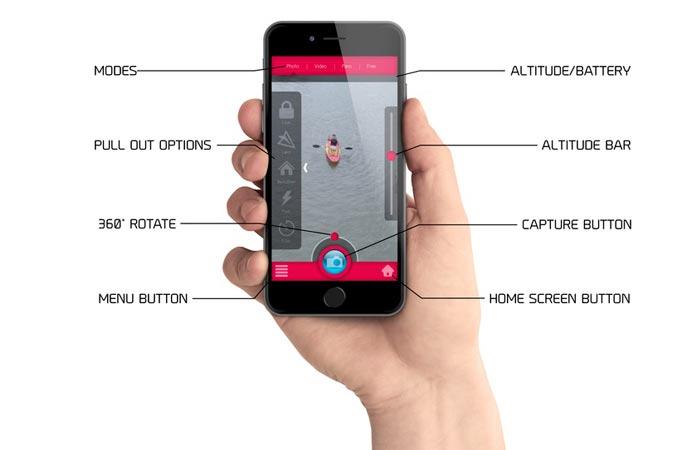 Zano Drone app