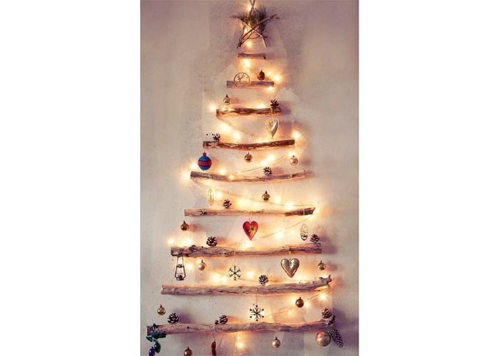 Environmentally friendly Christmas tree - 11 CREATIVE CHRISTMAS TREES |
