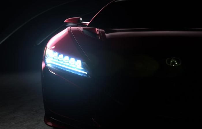 2016 Acura NSX front lights