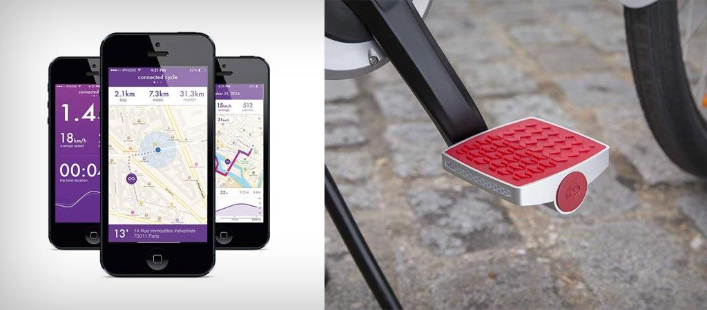 Anti-theft smart bike pedal