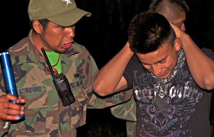 caminata nocturna simulation in Mexio