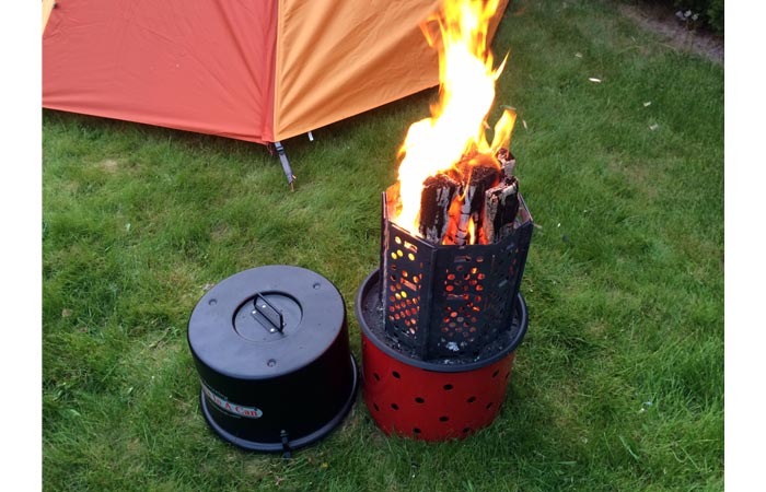 The Amazing Campfire in a Can