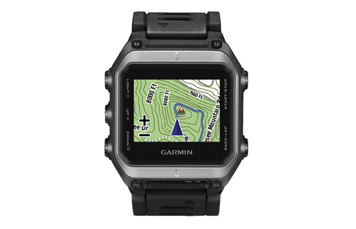 GPS map on the Garmin Epix