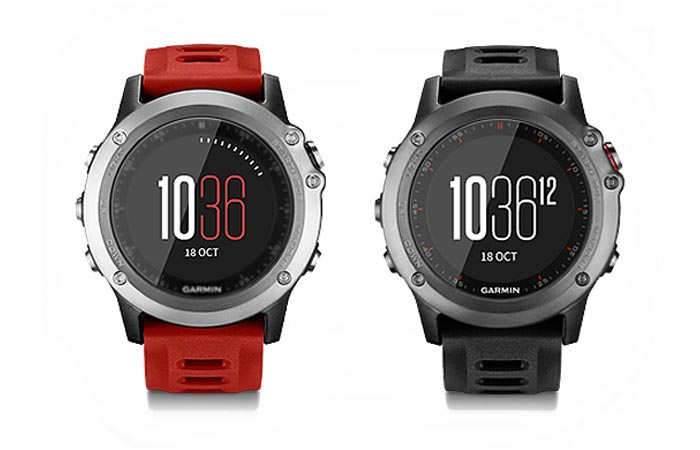 Garmin Fenix 3 silver and dark