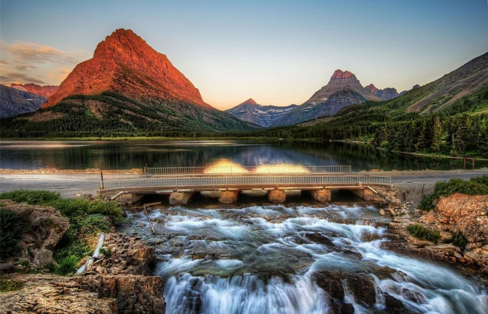Glacier National Park scenery