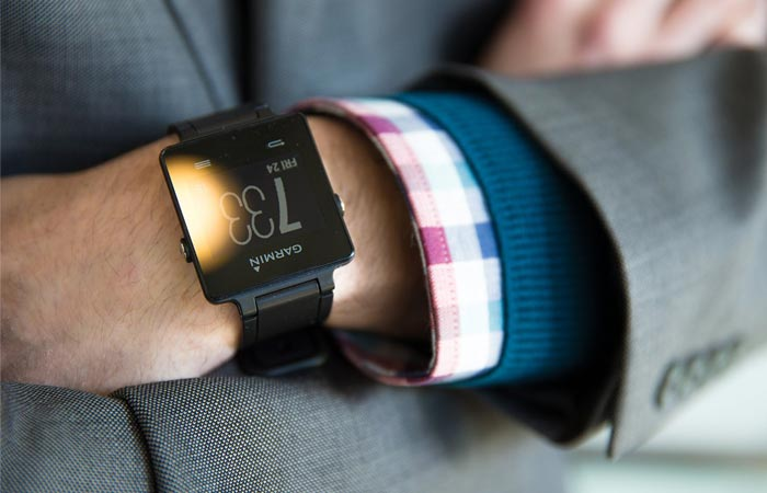 Garmin Vivoactive for business casual