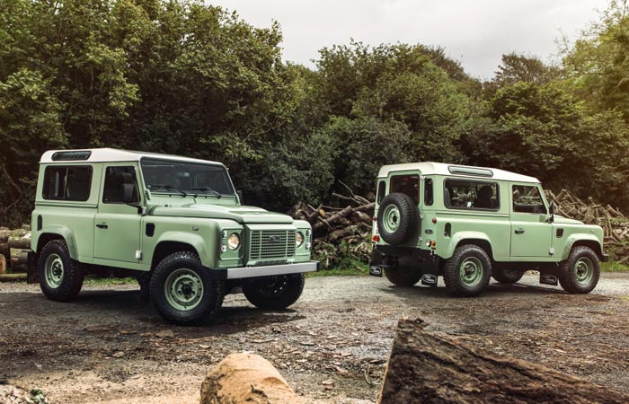 The Heritage Land Rover Defender