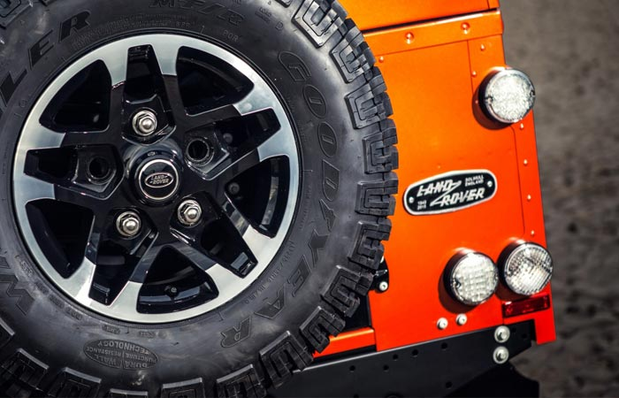 The Adventure Edition Land Rover Defender Celebration Series