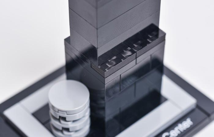 Carbon fiber Lego tiles