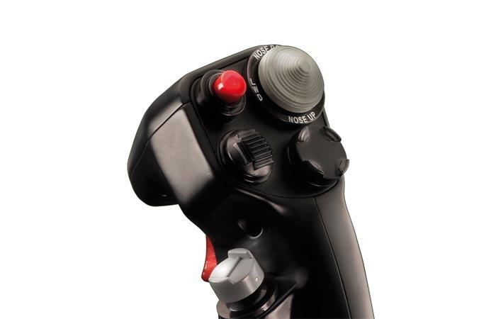 Hotas Warthog joystick buttons