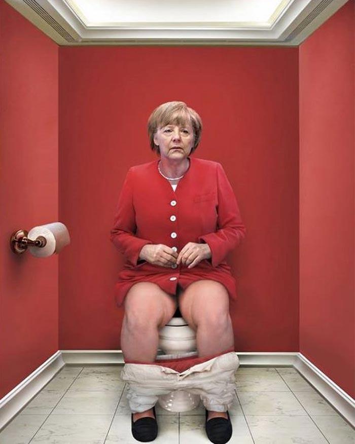 The Daily Duty with Angela Merkel
