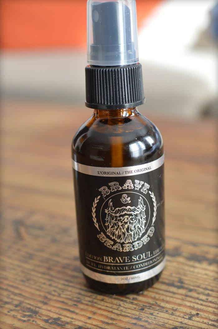 Brave and Bearded Beard Oil