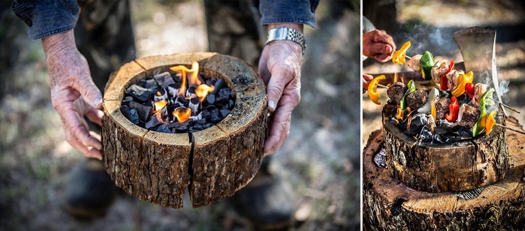 Burnie campfire